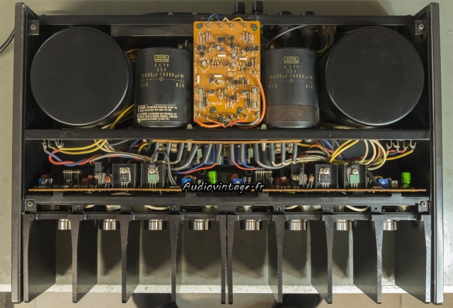 Luxman M-12 : terminé.
