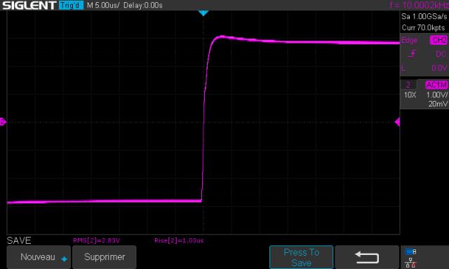 Luxman M-12 : signal-carre-a-100hz