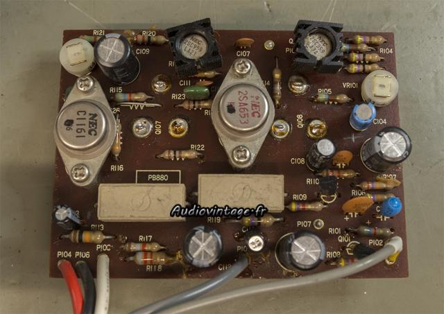 Luxman SQ507X : circuit driver à revoir.