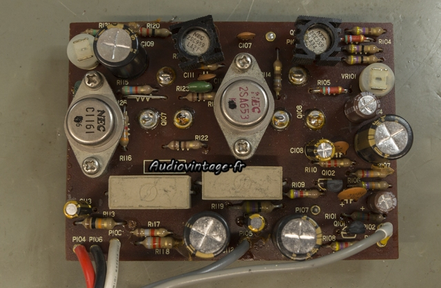 Luxman SQ507X : circuit driver révisé.