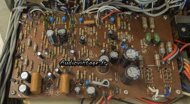 Luxman SQ507X : circuit principal à revoir.