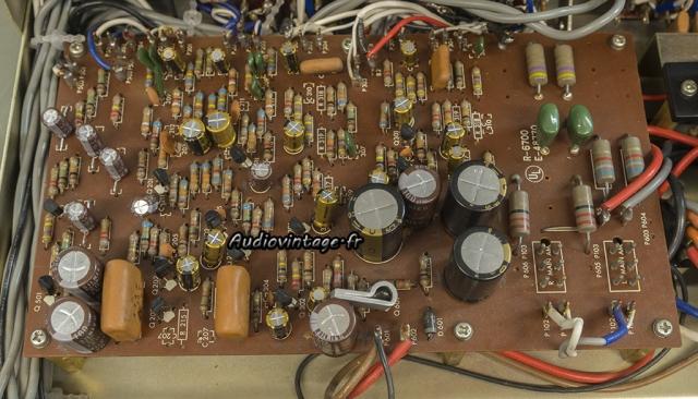 Luxman SQ507X : circuit principal révisé.