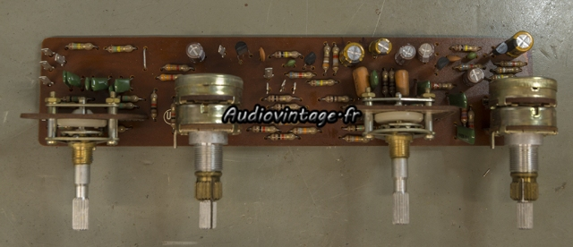 Luxman SQ507X : circuit de tonalité révisé.
