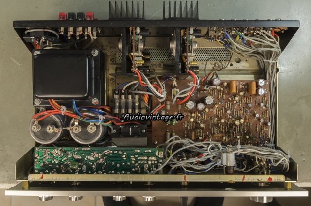 Luxman SQ507X : terminé.