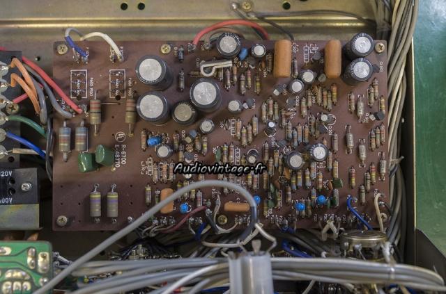 Luxman SQ507X : circuit principal à réviser.