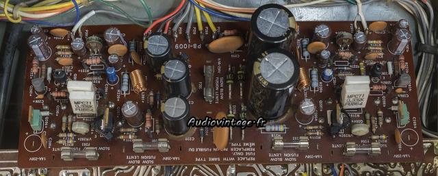 Luxman L-31 : circuit principal révisé.