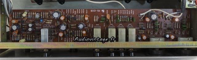 Luxman L-31 : circuit secondaire à revoir.