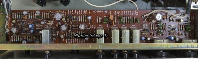 Luxman L-31 : circuit secondaire révisé.