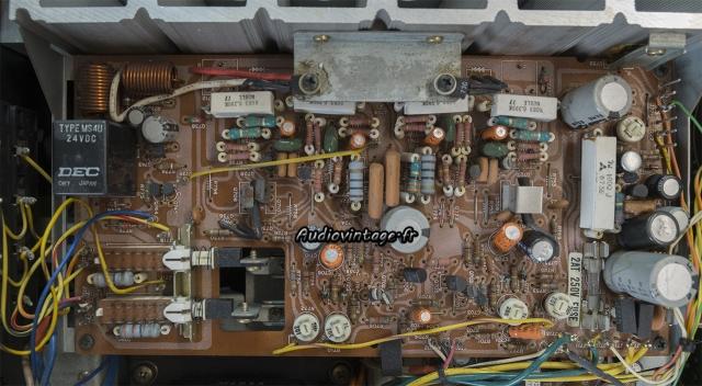 "Marantz 2238B : circuit ""principal"" avant intervention."