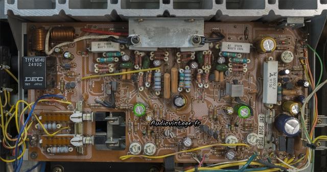 Marantz 2238B : circuit principal révisé.