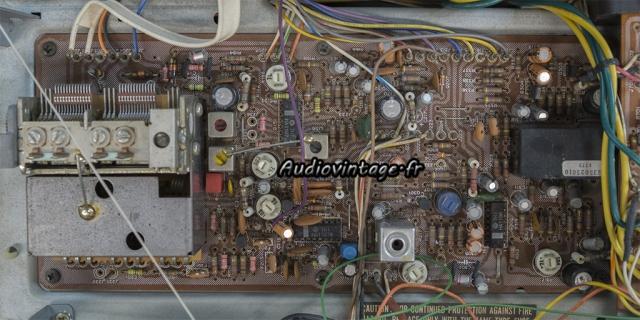 Marantz 2238B : circuit tuner FM après intervention.