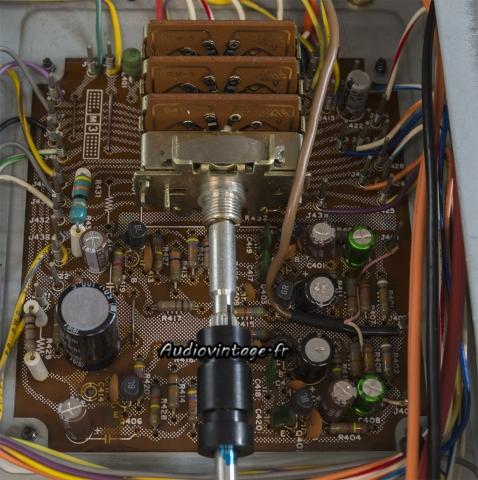 Marantz 2238B : étage phono révisé.