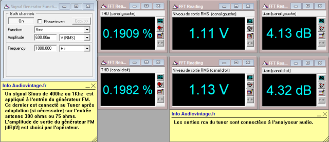 Marantz 2238BL : distorsion-en-FM-stereo-98mhz-70dBµv-apres-reglage