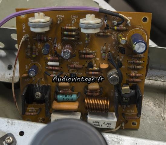 Marantz 2240 : circuit driver révisé