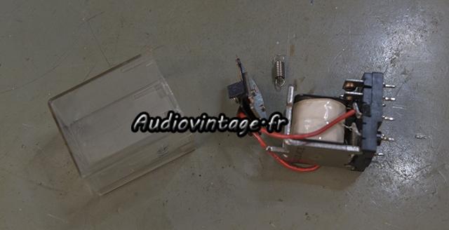 Marantz 2240 : désoxydation des contacts du relais
