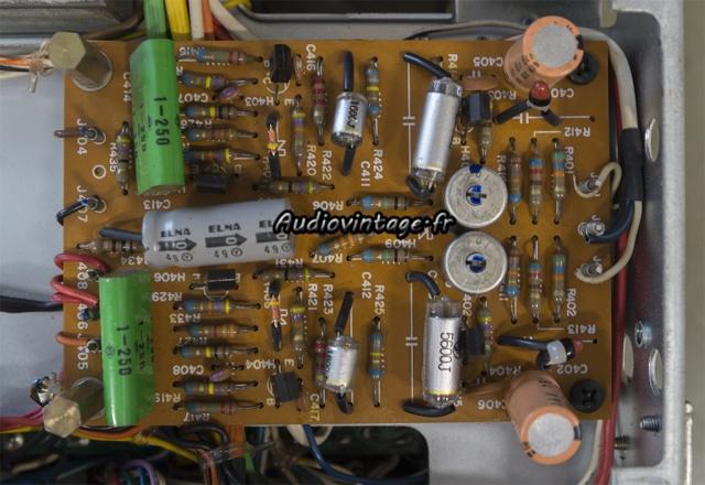 Marantz 2240 : étage phono à réviser