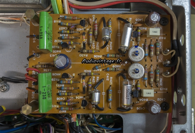 Marantz 2240 : étage phono révisé
