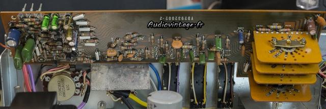 Marantz 3200 : étage de tonalité/filtre réparé et révisé.
