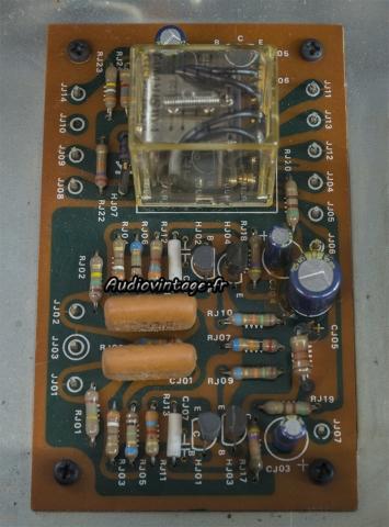 Marantz 3200 : circuit de protection révisé.
