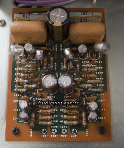 Marantz 3200 : circuit phono révisé.