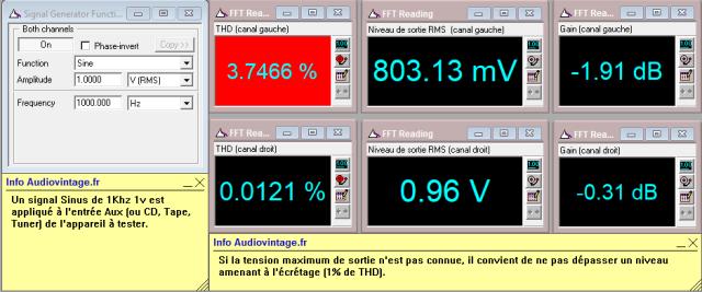 Marantz 3200 : distorsion-a-1v-en-sortie-entree-aux-probleme