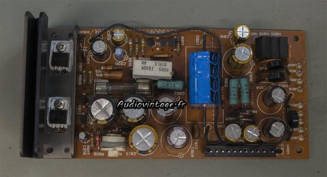 Marantz 4400 : circuit alimentation révisé.