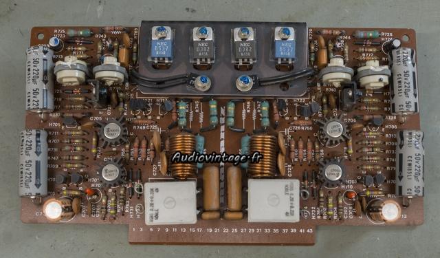 Marantz 4400 : circuit driver à réviser.