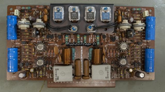 Marantz 4400 : circuit driver révisé.