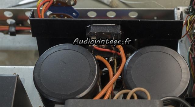 Marantz 4400 : pont de diode monté.