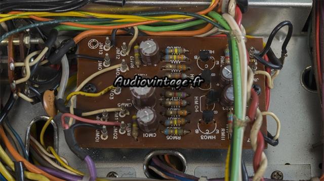 Marantz 4400 : circuit phase convertor révisé.