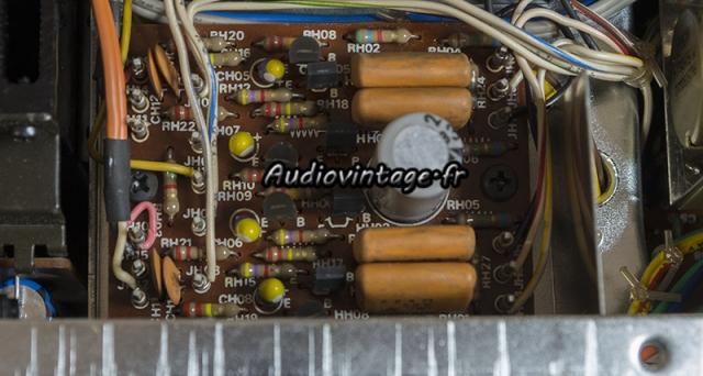 Marantz 4400 : circuit filtre à revoir.