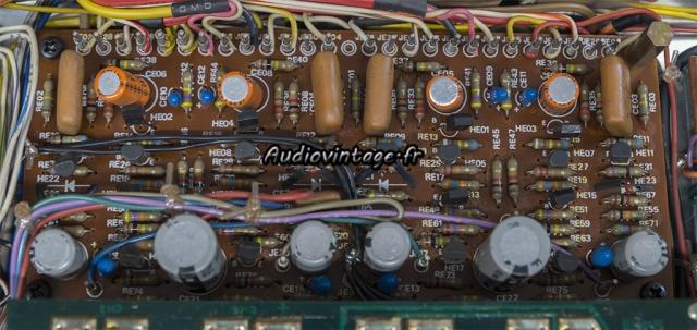 Marantz 4400 : circuit buffer & preamplifier à revoir.