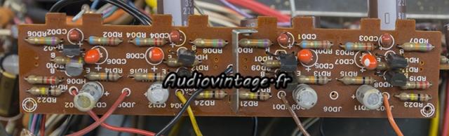 Marantz 4400 : circuit tone amplifier à réviser.