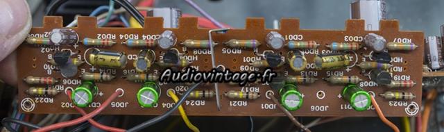 Marantz 4400 : circuit tone amplifier révisé.