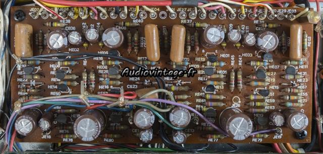 Marantz 4400 : circuit buffer & preamplifier révisé.