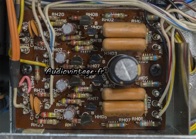 Marantz 4400 : circuit filtre revu.
