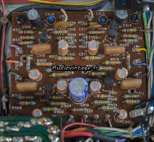 Marantz 4400 : circuit vari-matrix à revoir.