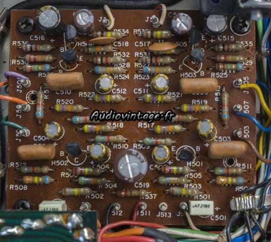 Marantz 4400 : circuit vari-matrix révisé.
