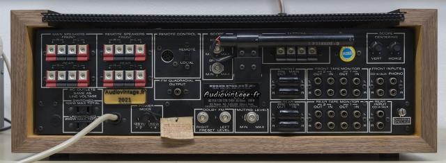Marantz 4400 : connectique.