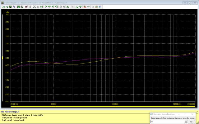 Marantz 4400 : reponse-en-frequence-a-2x1w-sous-8-ohms-entree-phono-mode-stereo