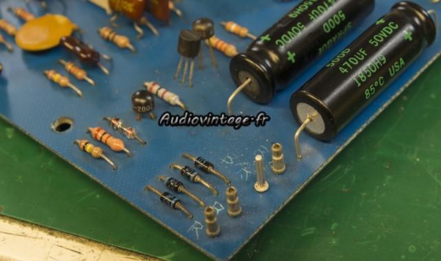 Marantz 3800 : connecteur remplacé.