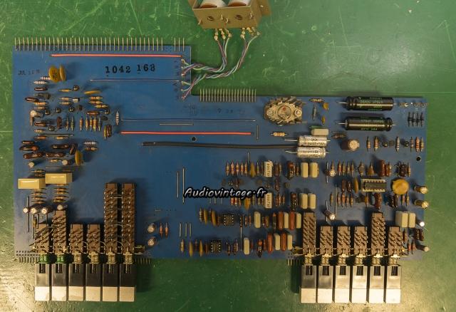 Marantz 3800 : condensateurs remplacés.