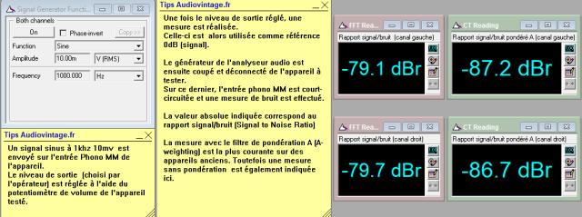 Marantz 7T : rapport-signal-bruit-a-10v-en-sortie-entree-phono