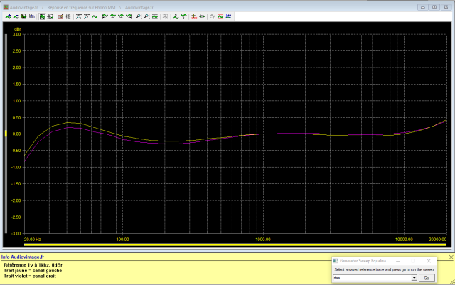 Marantz 7T : reponse-en-frequence-a-1v-en-sortie-entree-phono