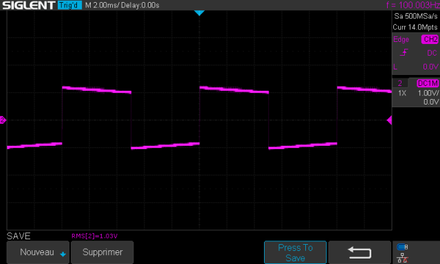 Marantz 7T : signal-carre-a-100hz