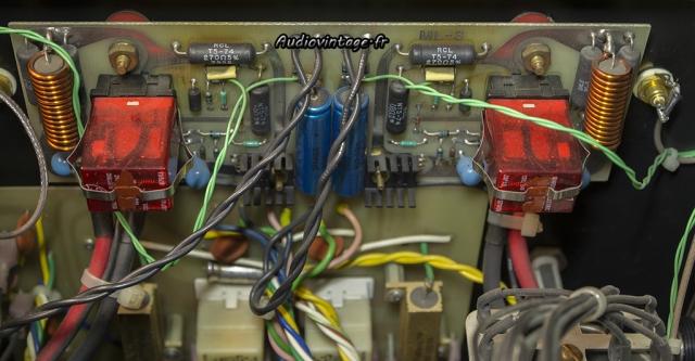 Mark Levinson ML-3 :  circuit de protection à réviser.