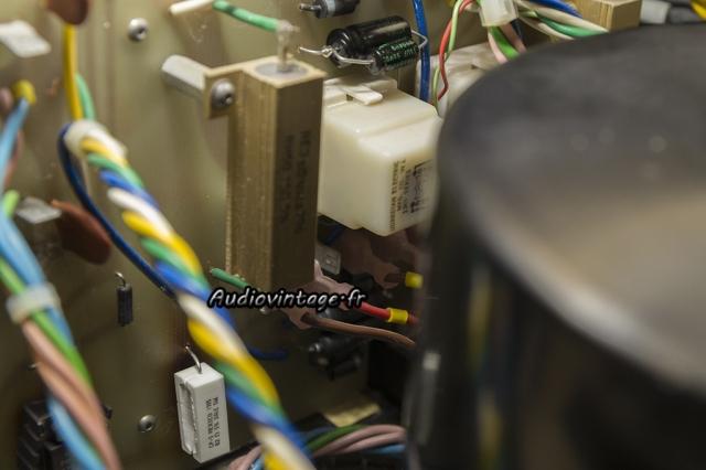 Mark Levinson ML-3 : résistance et condensateur remplacés.