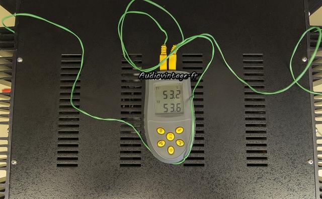 Mark Levinson ML-3 : contrôle de la température.