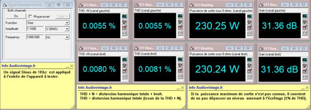Mark Levinson ML-3 : distorsion-à-2x230w-sous-8-ohms