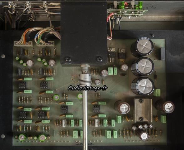 McIntosh C29 : circuit principal et circuit d'entrée révisés.